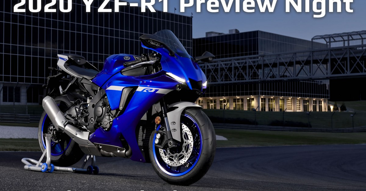 Wigan Yamaha 2020 YZF-R1 Preview Evening