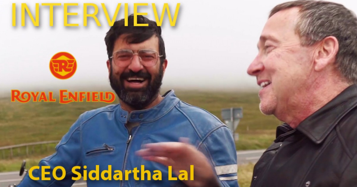 Interview with Siddartha Lal