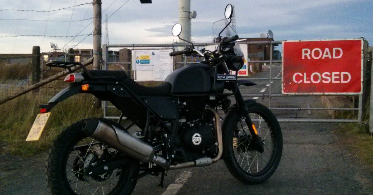 KJM shop verdict two of the continuing adventures of the Royal Enfield Himalayan demonstrator