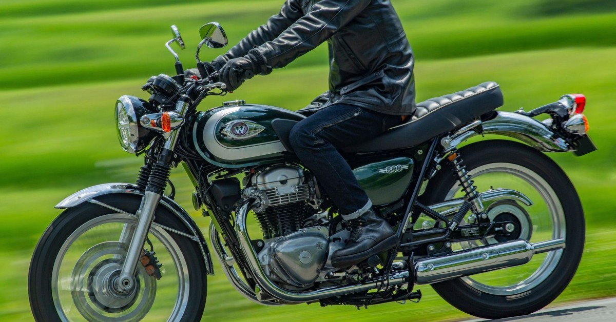 Introducing the new Kawasaki W800