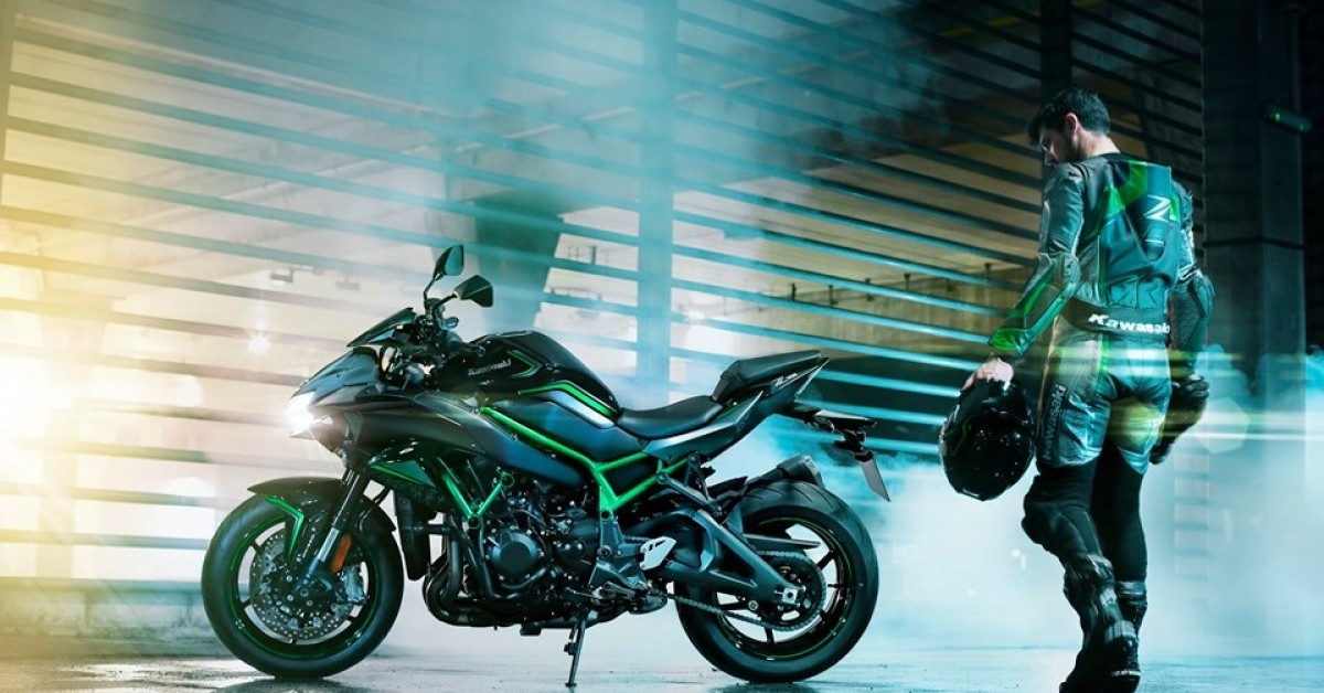 Introducing the all-new Kawasaki Z H2