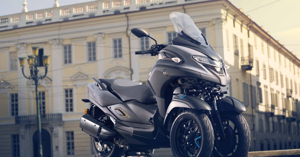 Wigan Yamaha exclusively reveal the all new Tricity 300