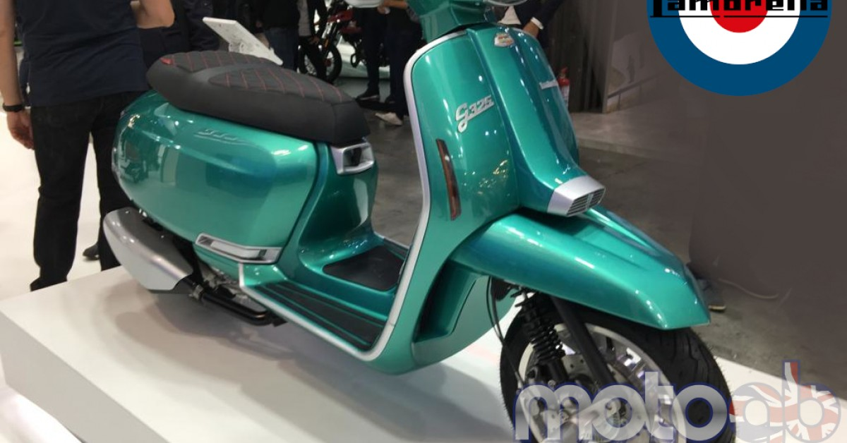 Lambretta New from EICMA, Milan November 2019