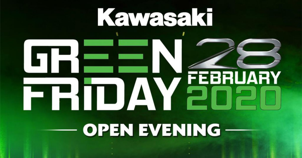 Kawasaki 2020 Green Friday