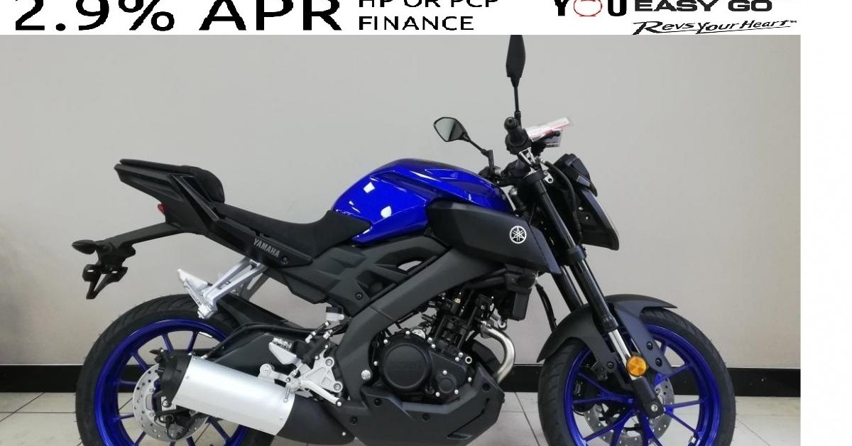 YAMAHA MT125,, YZFR125,,YS125 AT 2.9% APR RATE FINANCE