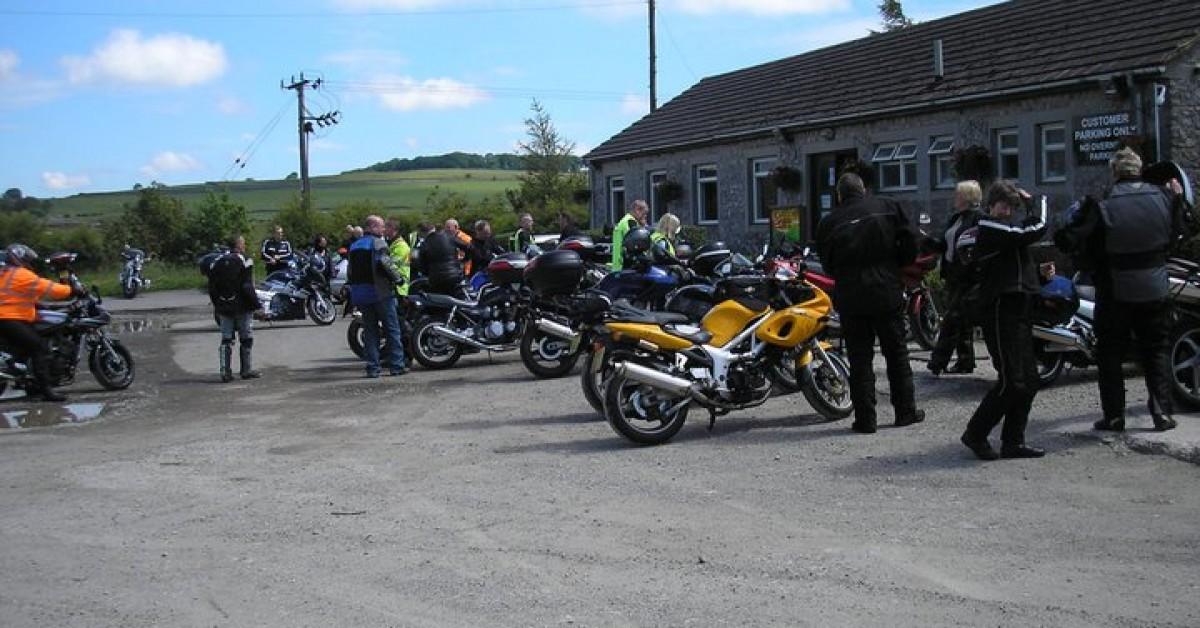 Royal Enfield Rideout to the Yondermann Cafe