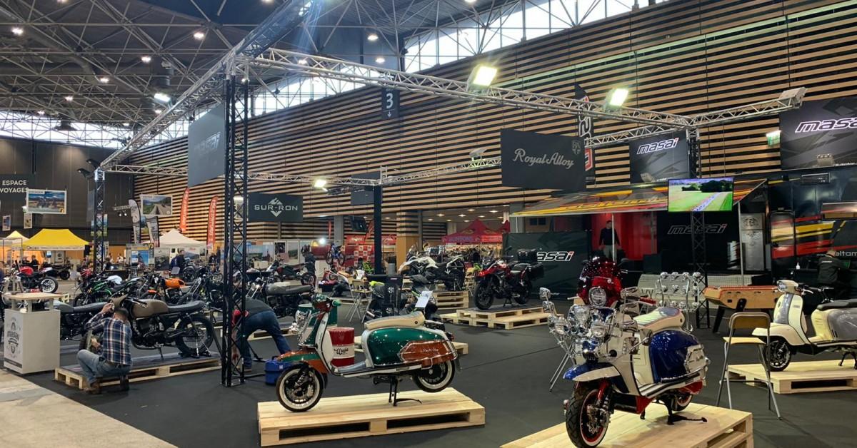 Royal Alloy Bike and Moto fair France