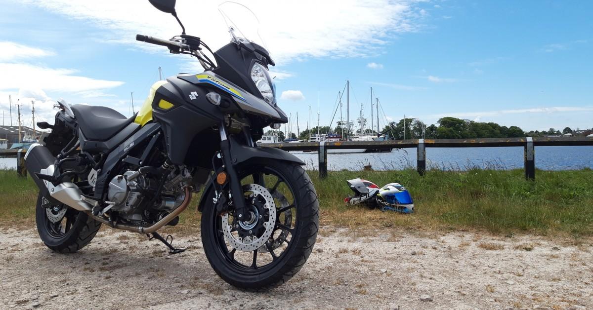 Chris Long, Suzuki Dl650 Review