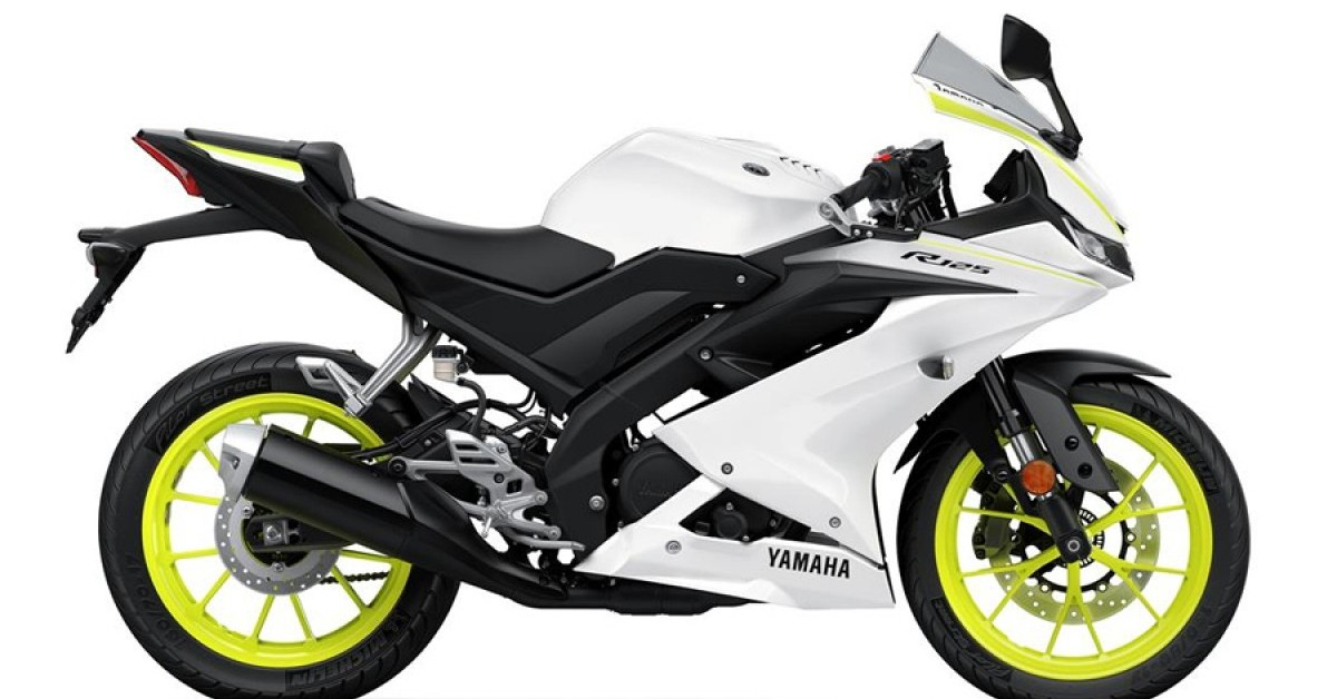 YZF-R125 LAST ONE IN COMPETITION WHITE