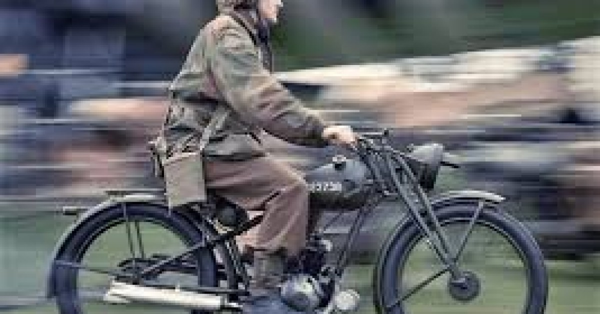 Guy's WW2 Royal Enfield Bike Ride  Guy Martin Proper