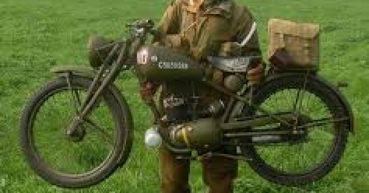 Guy's WW2 Royal Enfield Bike Ride  Guy Martin Proper