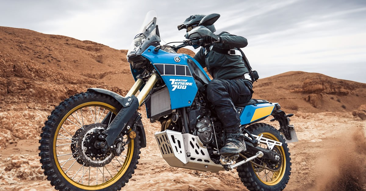 Yamaha Tenere 700 Rally Edition - Available Now at Wigan Yamaha Centre