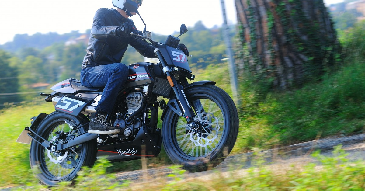 FB Mondial Flat Track 125cc