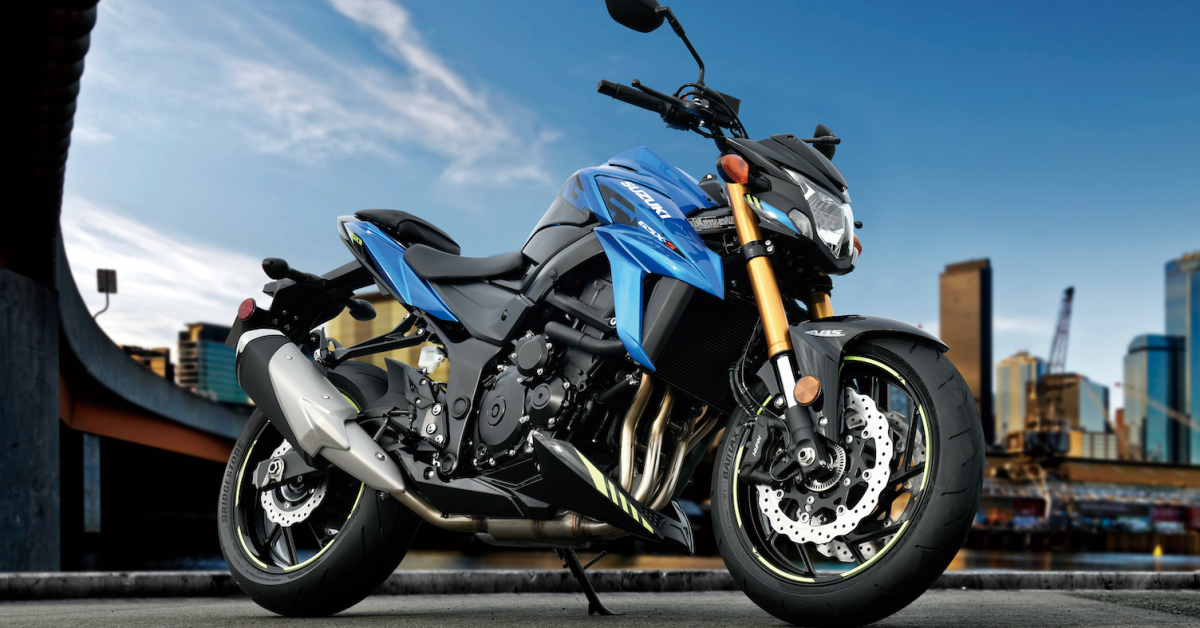 SUZUKI RELEASES NEW COLOURS FOR GSX-S750