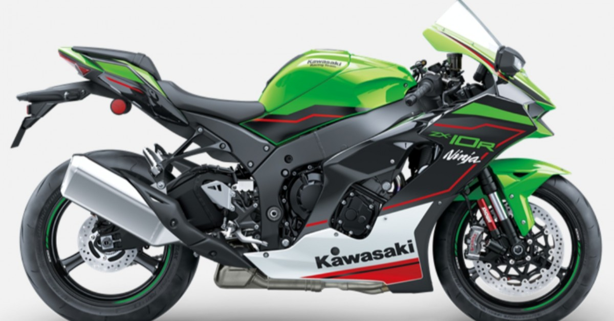 Kawasaki 2021 ZX10R and RR