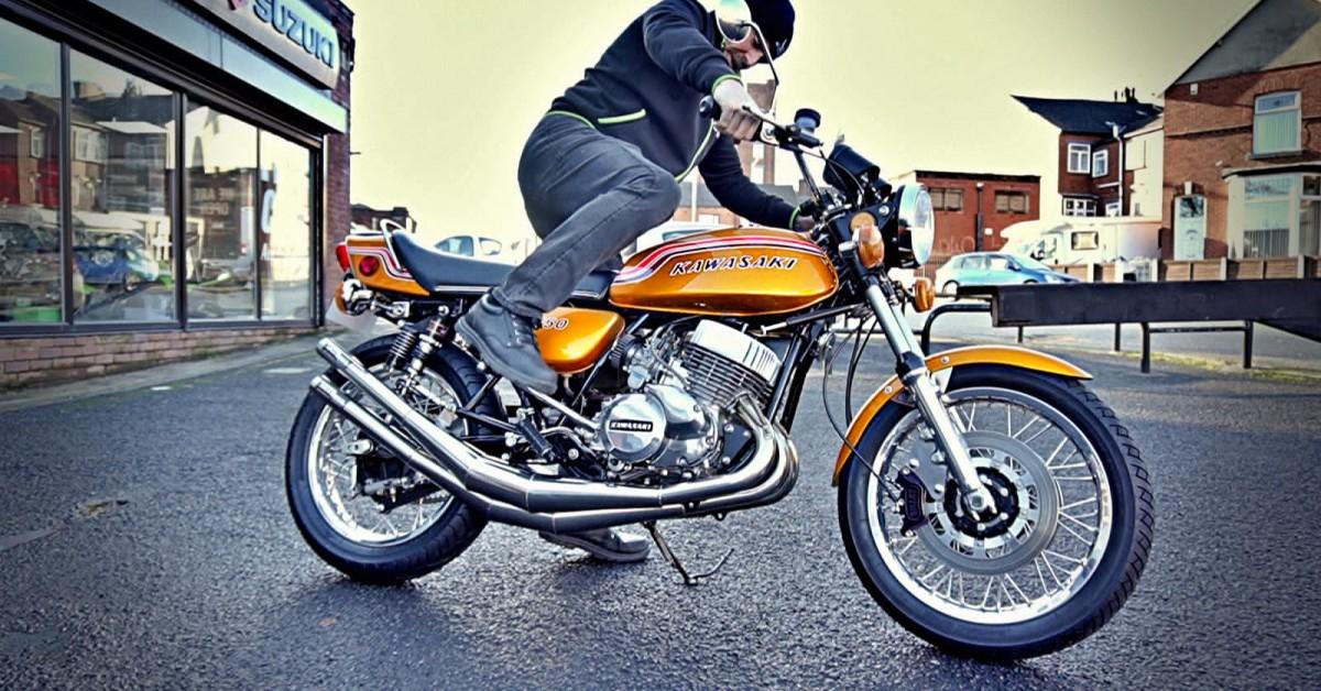 Beautiful 1972 Kawasaki H2 750 Special