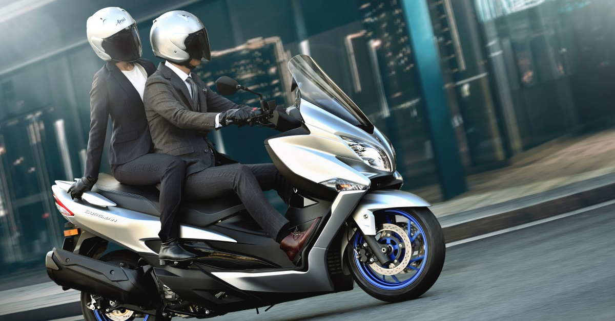 The new exciting Euro 5 Suzuki Burgman 400 has just been launched and lands in the summer.