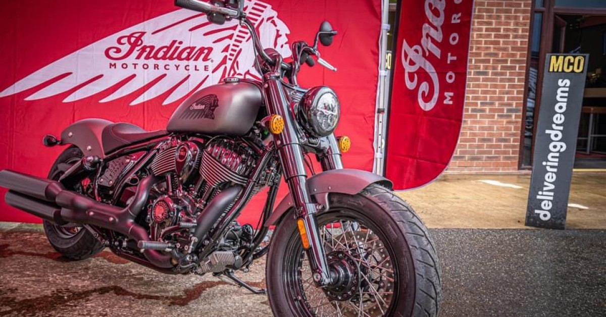 Indian motorcycle all-New Chief VIP event