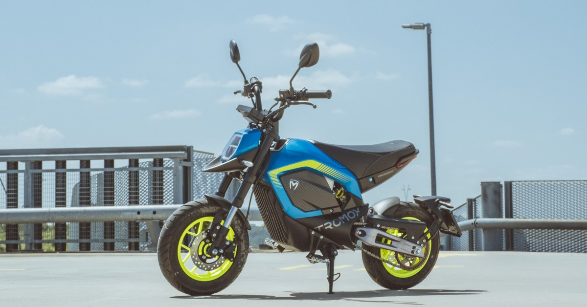 The New All Electric Road Legal Mini Bike From Tromox, The Mino