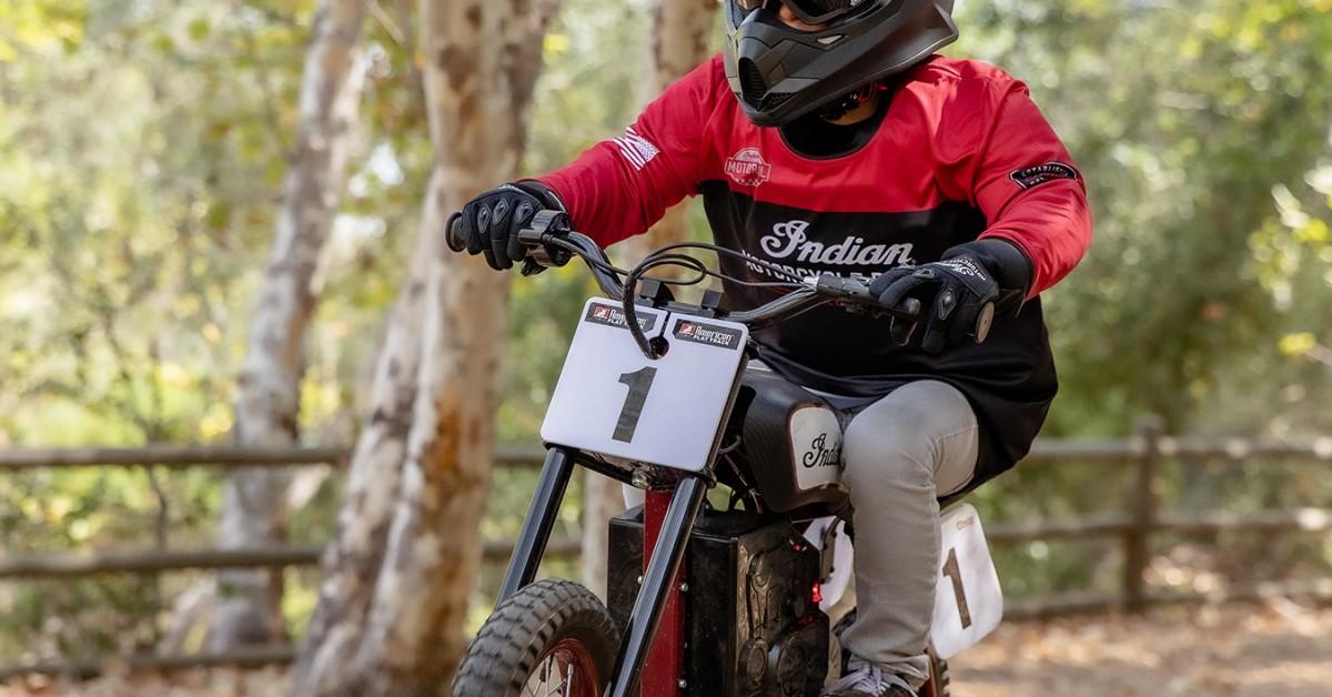 Indian FTR Mini / Childrens electric bike
