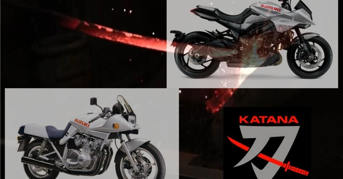 Suzuki's Past and Future Katana