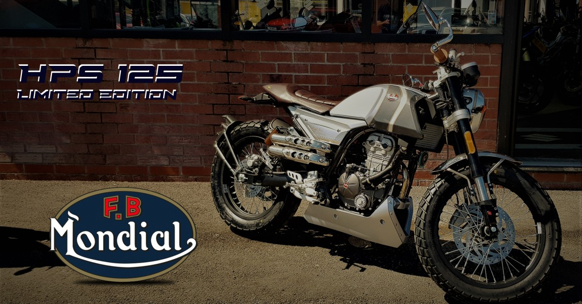 FB Mondial HPS 125 limited Edition