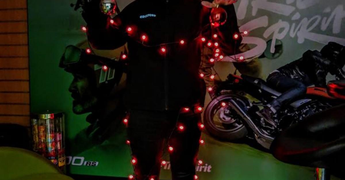 Its Christmas At Bolton Motorcycles!