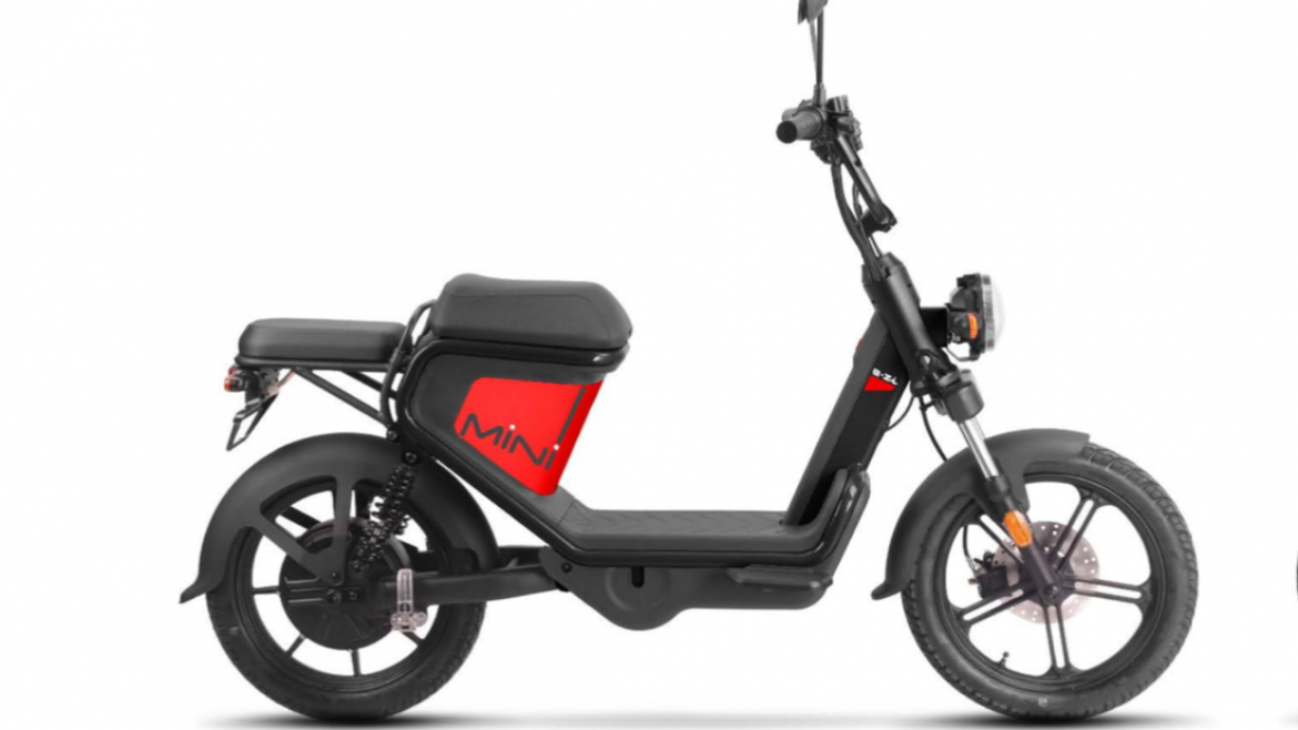 Keeway E-ZI Mini Electric Scooter 45kw (equivalent 50cc) 48v 1000w Lithium Battery.