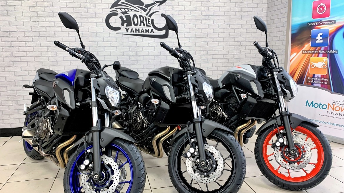 £5975.00 plus otr,, NEW Yamaha MT07 last remaing few 2020 model