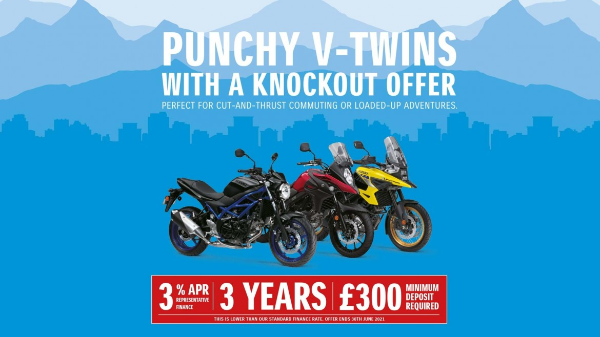 New Katana -£1400 dealer contribution and 5.9% APR PCP or HP
