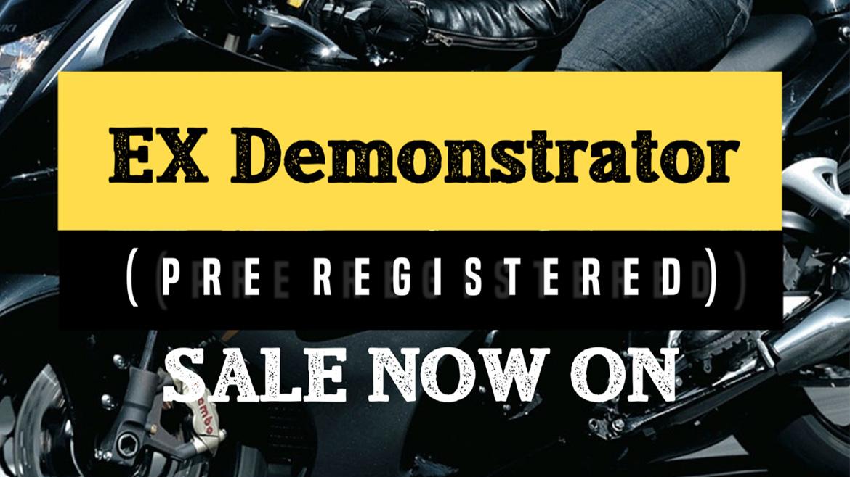 EX Demo Sale Now On