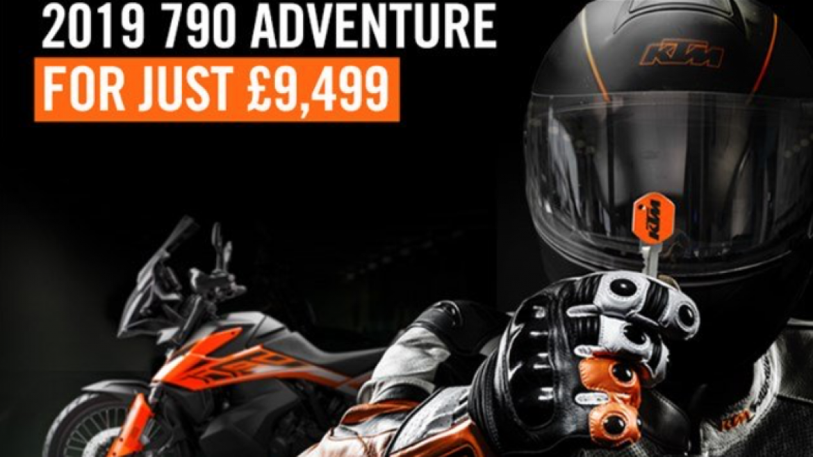The 790 Adventure now with £790 Power Parts Voucher