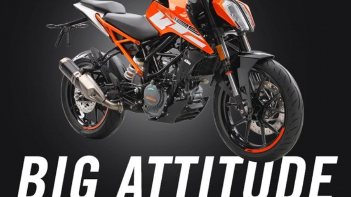KTM 125cc DUKE: BIG ATTITUDE - SMALL PRICE