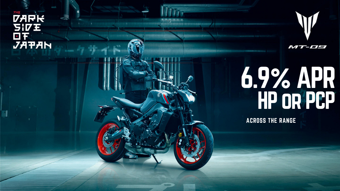 6.9% APR HP or PCP YOU Yamaha Motor Finance