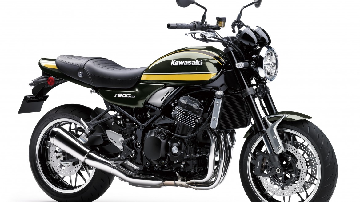 2020 Kawasaki Z900RS in Candytone Green £10599 Plus OTR
