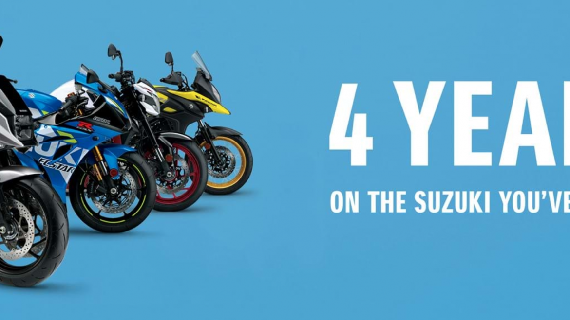 4 YEARS 0% APR ON THE SUZUKI YOU'VE BEEN DREAMING OF