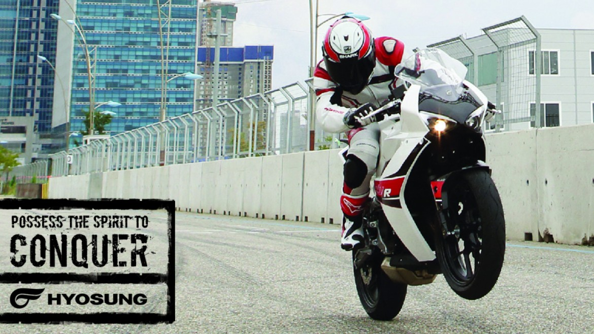 Upto £1000 OFF - Hyosung selected models