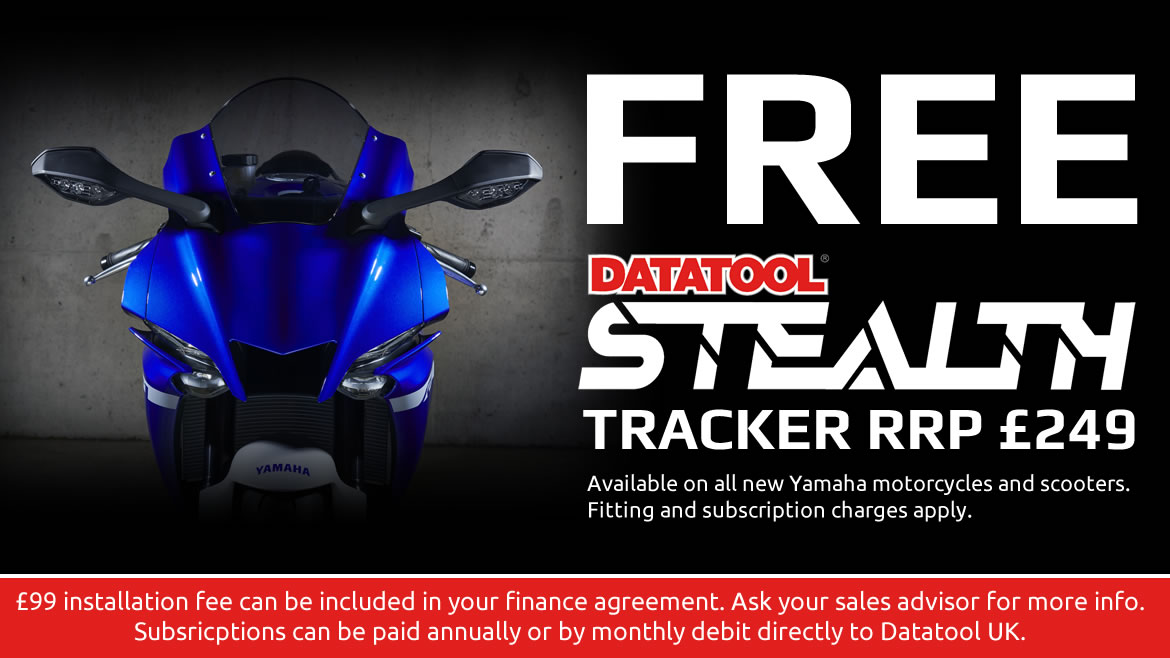 Free Trackers on Selected Scooters