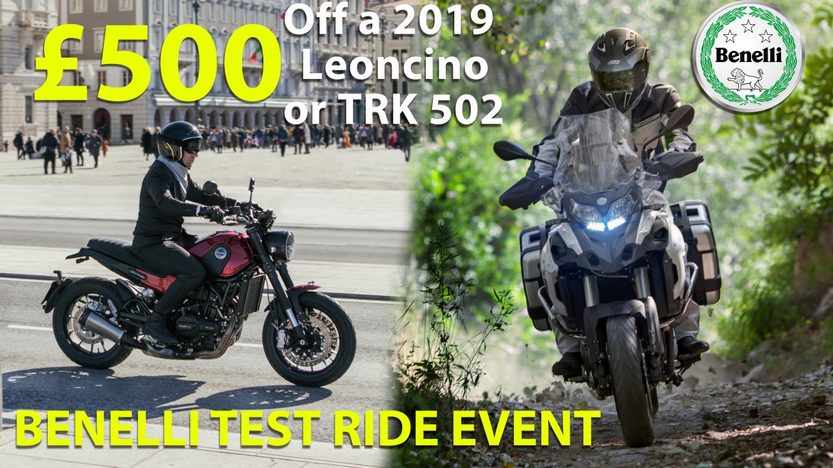 £500 OFF Test Ride Event