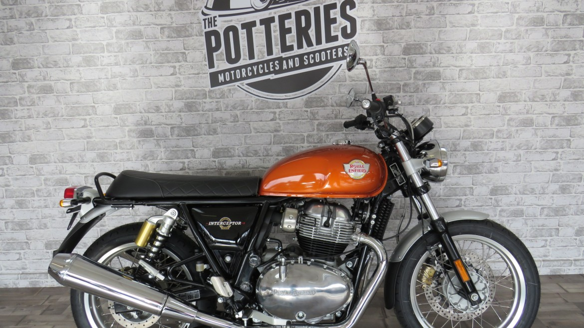 Royal Enfield Interceptor 650 standard colour
