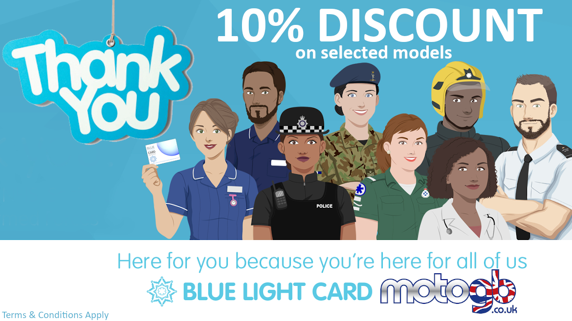 Blue Light Card NHS Emergency Services Armed Forces Discount