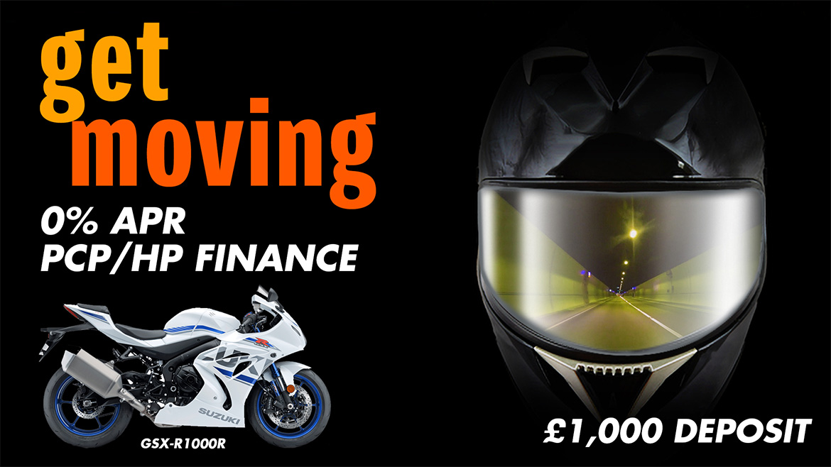GSX-R1000R Receives 0% Finance