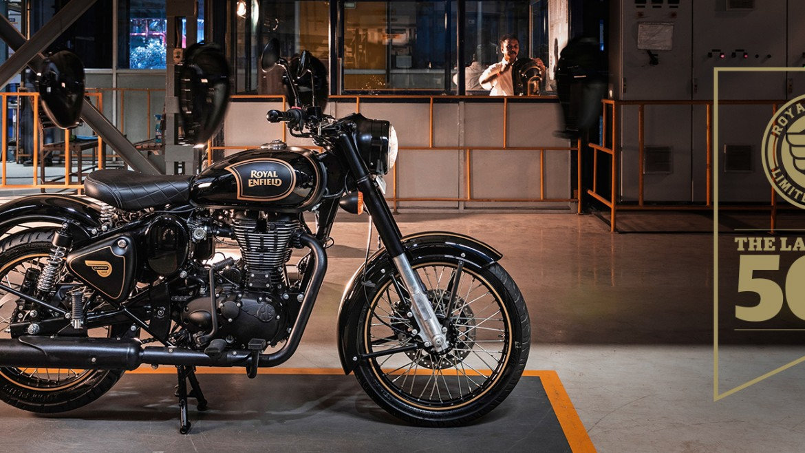 Royal Enfield Classic 500 Tribute