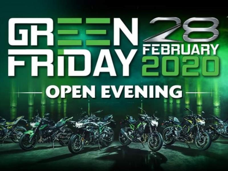 Kawasaki 2020 Green Friday