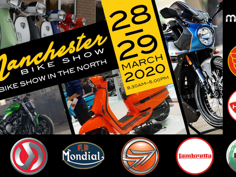 Come and see the latest range from MotoGB at the Manchester Bike Show