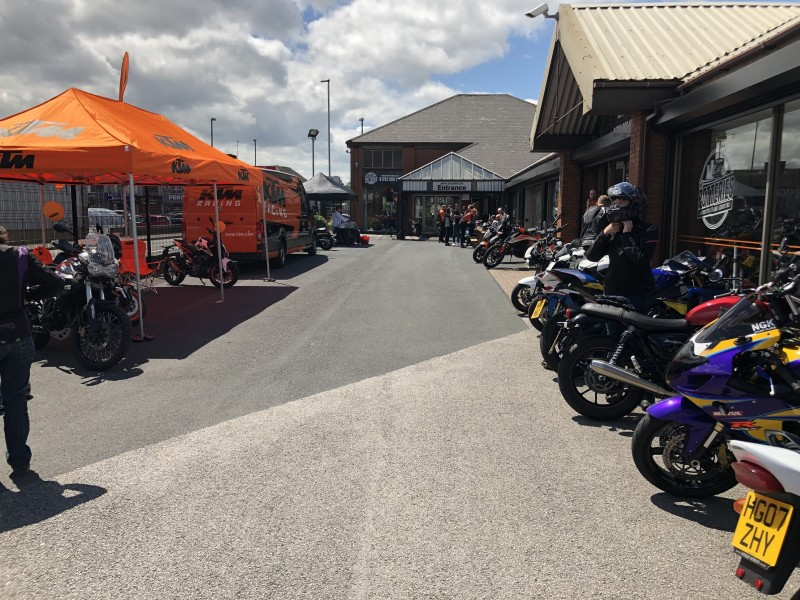 The Potteries Motorcycles & Scooters Open Day
