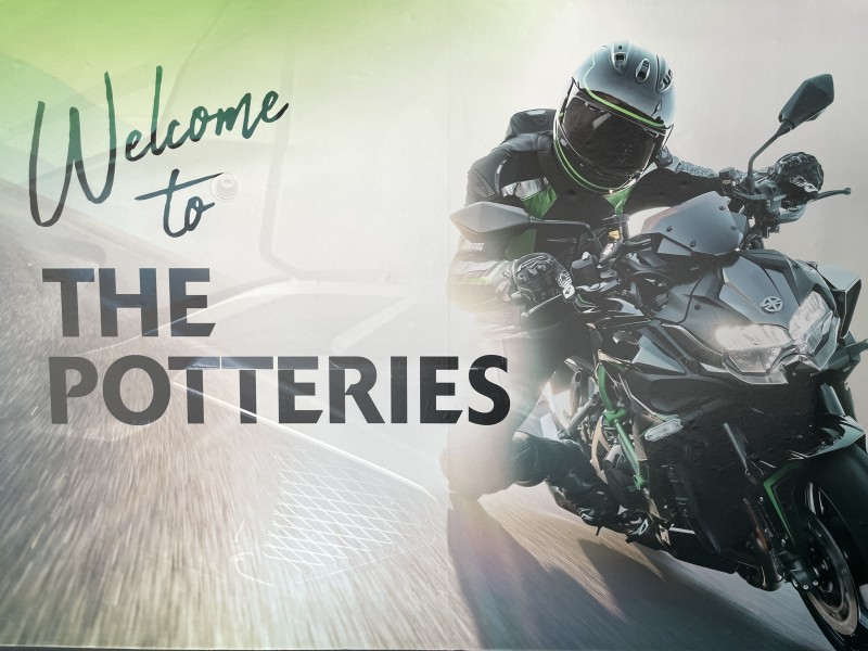 Kawasaki Demo Day at The Potteries Motorcycles and Scooters **Stoke**