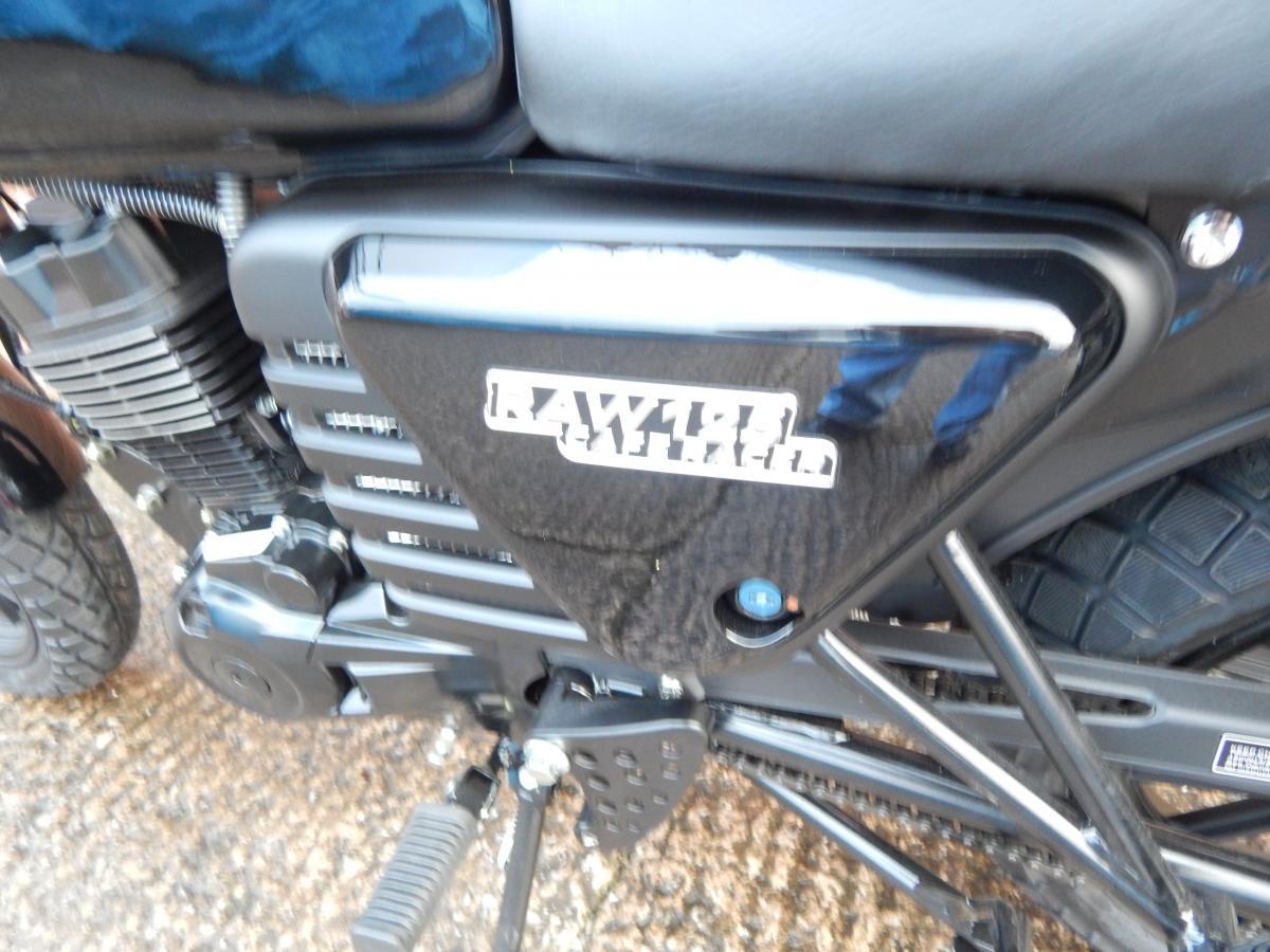 HANWAY MOTOR LTD RAW 125 E4 2020