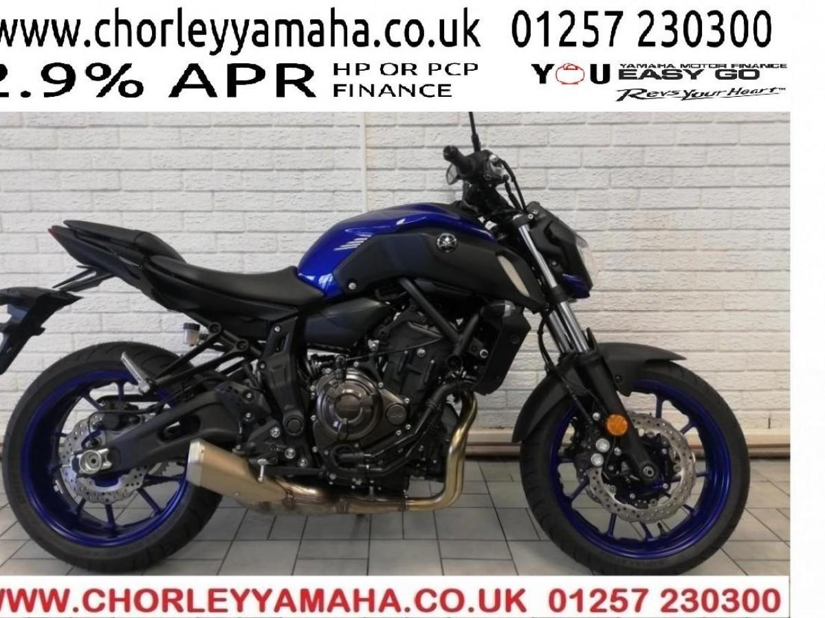 Yamaha MT-07 ABS 2020