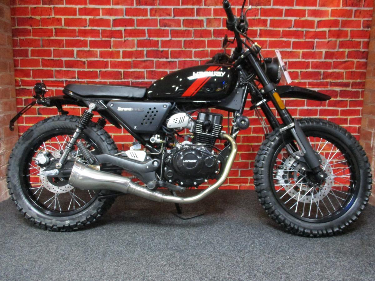 HANWAY MOTOR LTD HS 125 SCRAMBLER E4 2020